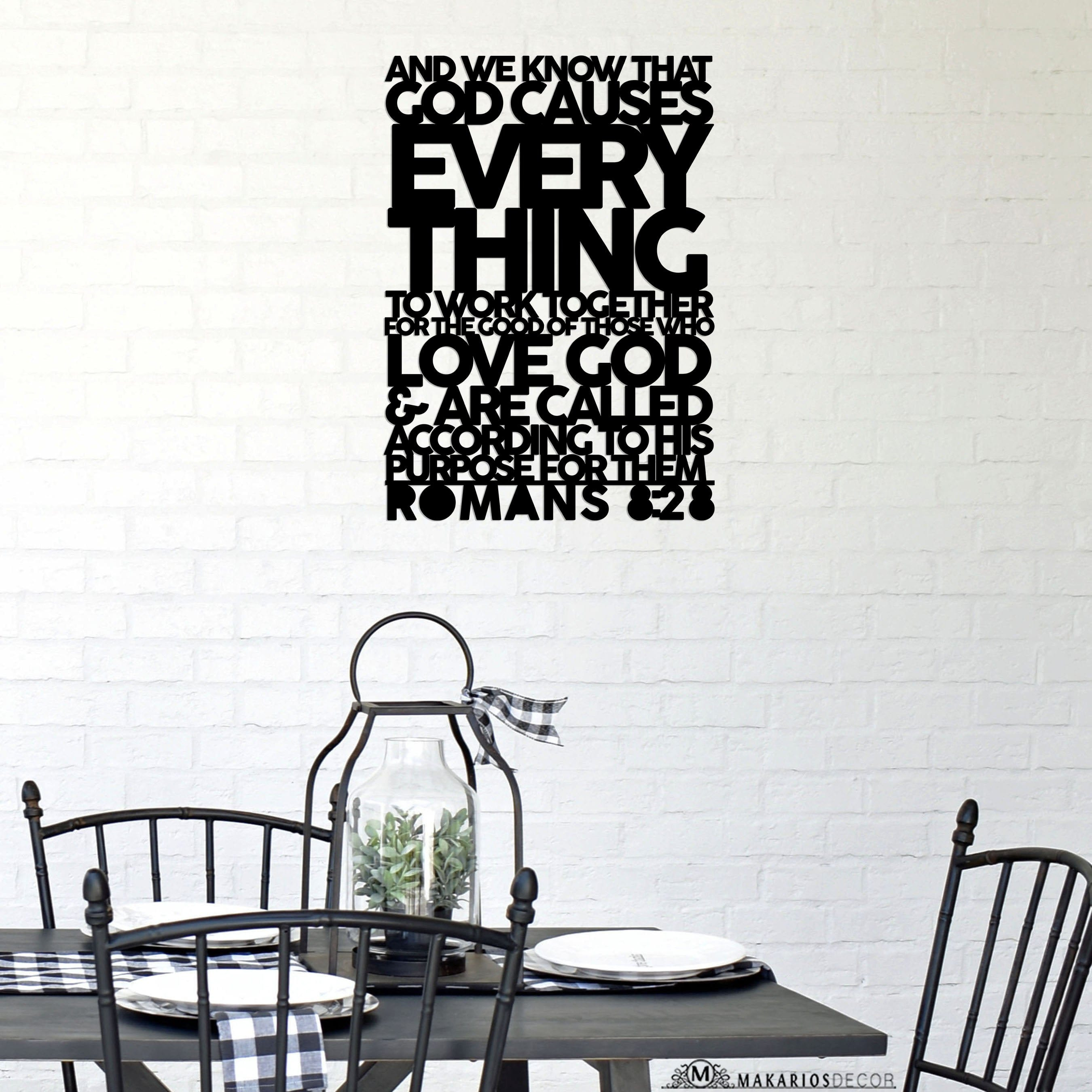 Romans 8 Scripture Sign