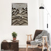 Rectangle Mountains Laser Art