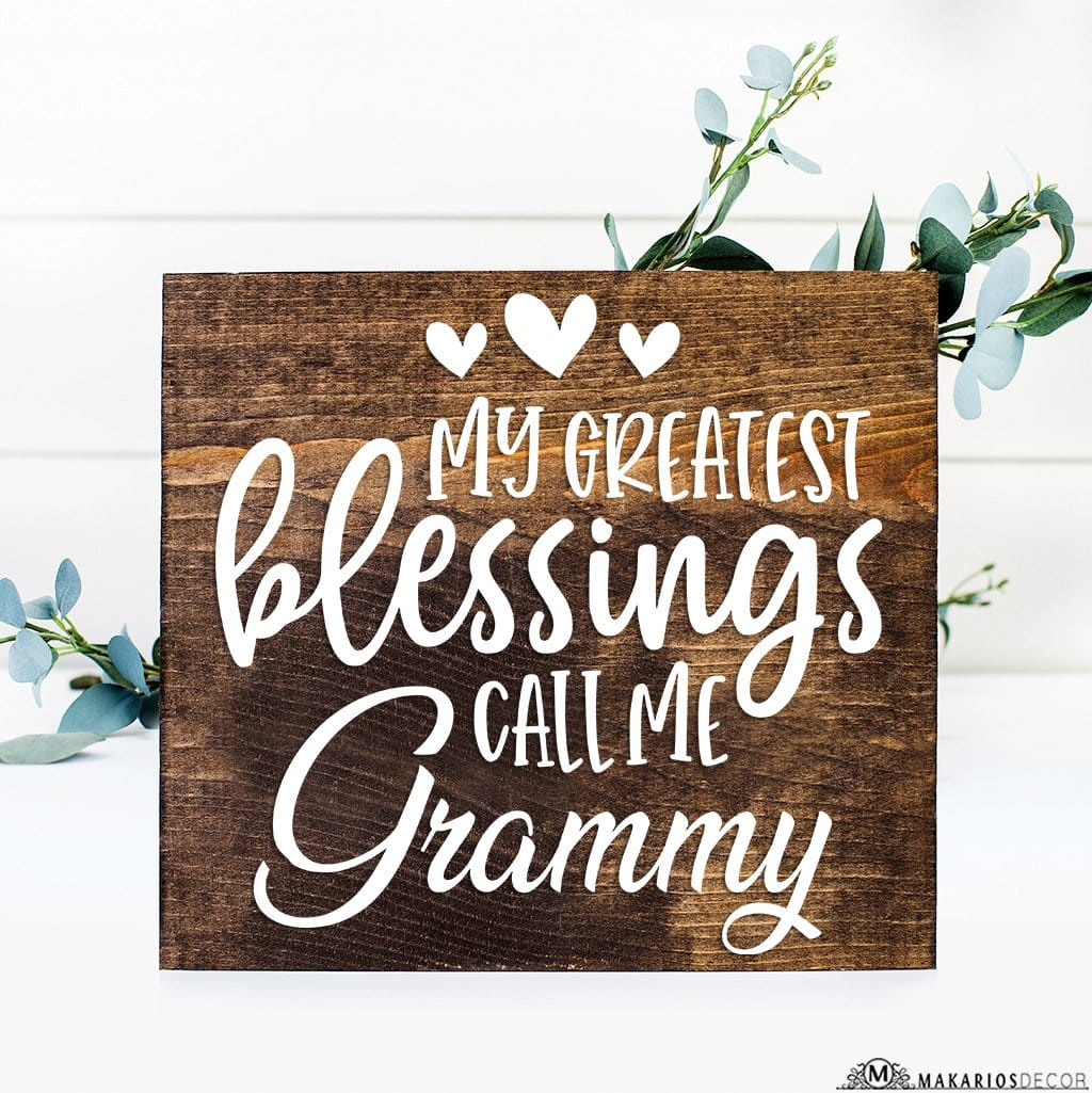 Greatest Blessings Call Me Grammy
