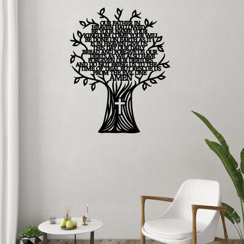 Lord's Prayer Tree