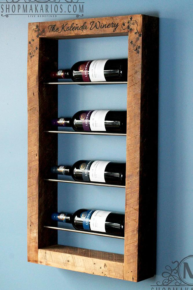 Unique Wine Racks: In the Home with Wood |Unique Wood Wine Rack