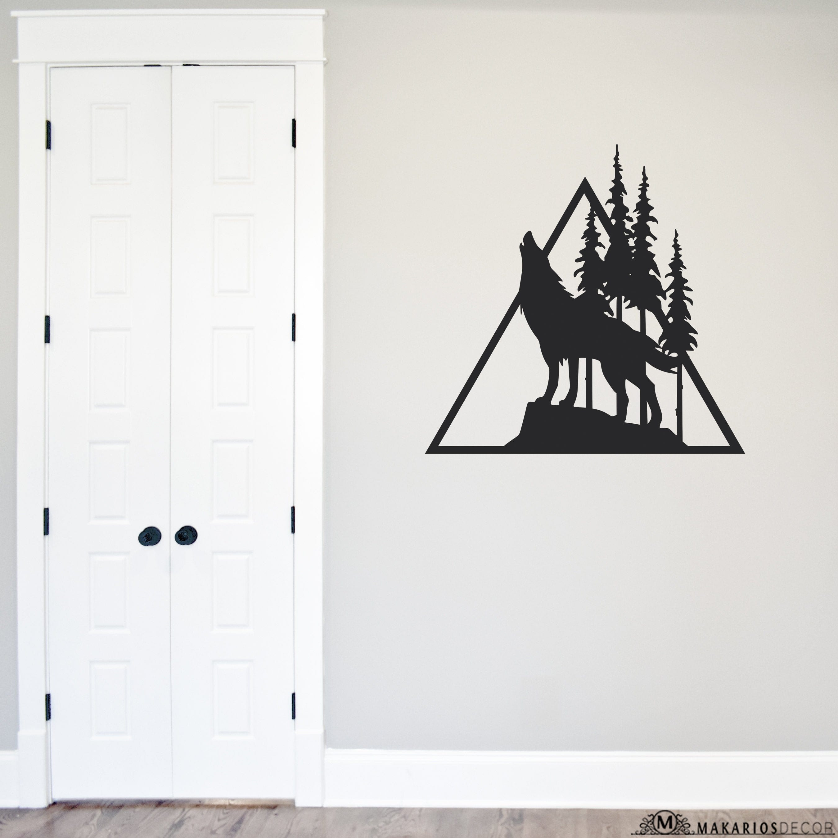 Triangle Wolf Sign