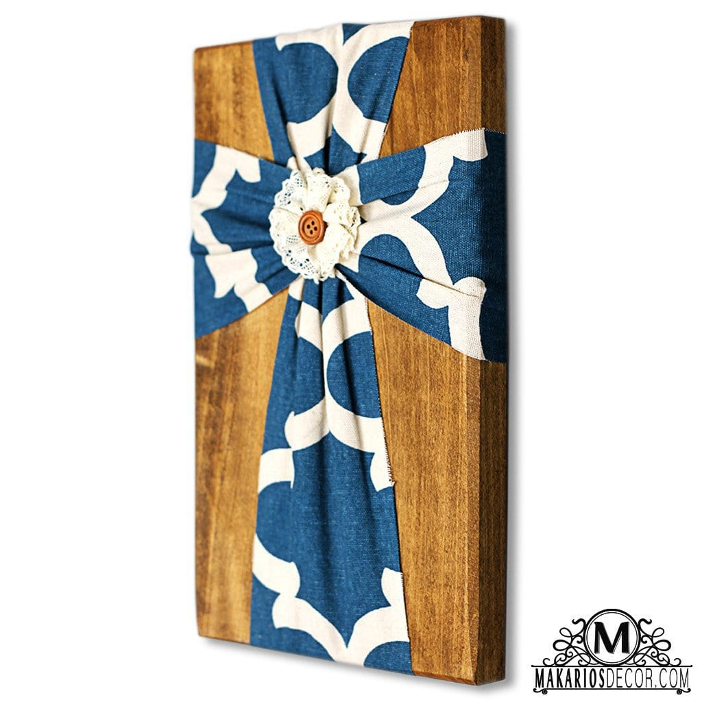 Fabric Wall Cross