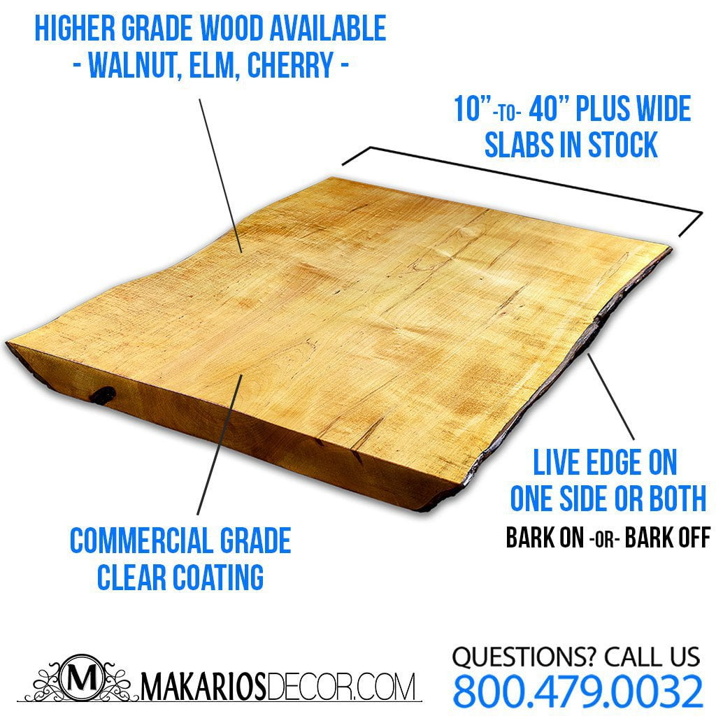 Wood Slab, wood slice, live edge wood slab
