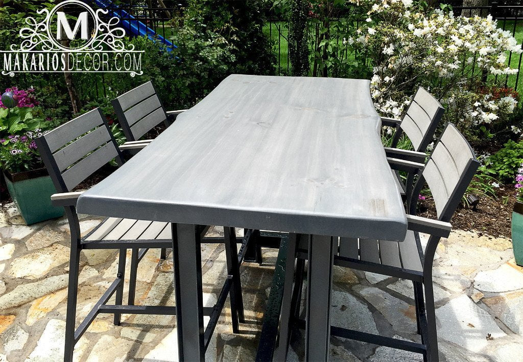 Wood slab table, wood slab dining table