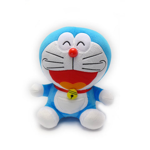 Smile Face Doraemon Plush