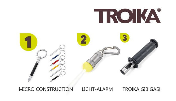 Troika top 3 promotional products at PSI Germany