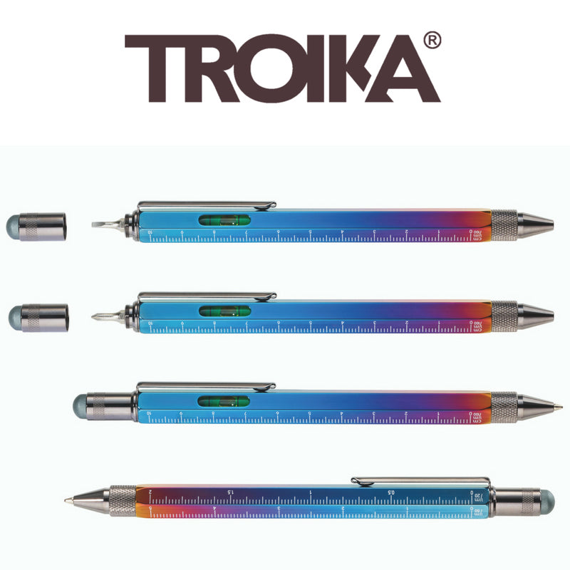 Troika introduces new Construction Pens, including a Special Edition Spectrum finish