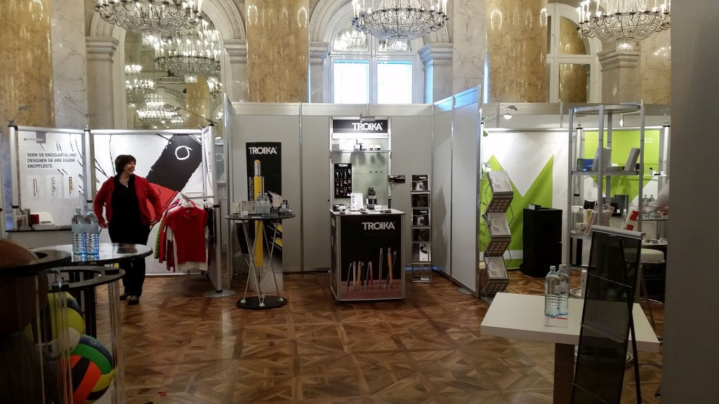 Troika Exhibit at the Marke Trade Fair in Vienna