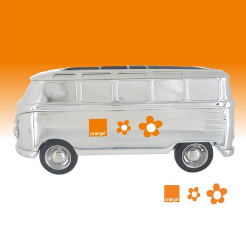 Troika VW ''Forever T1'' Bus Desk Organizer with Orange imprinting