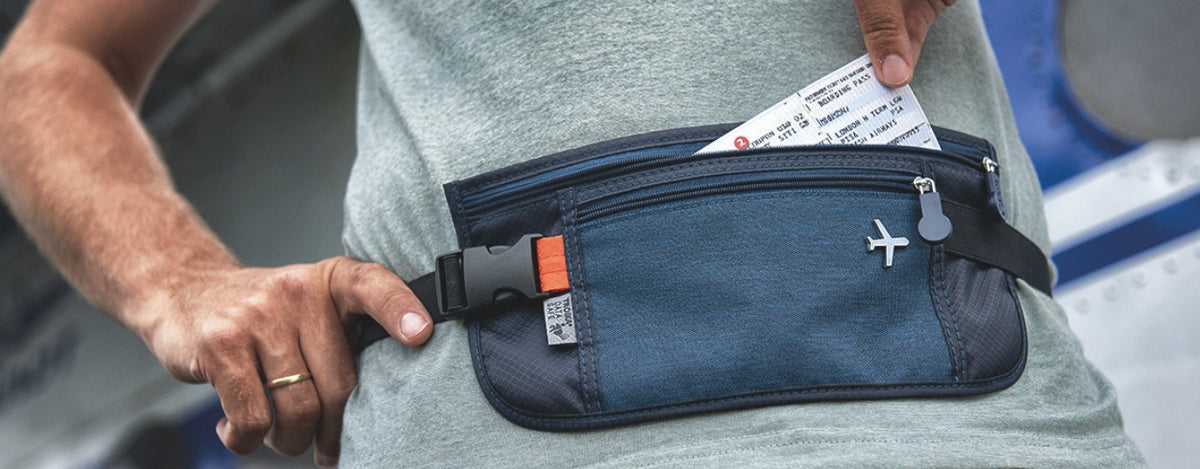 Troika RFID Protected Safety Travel Belt