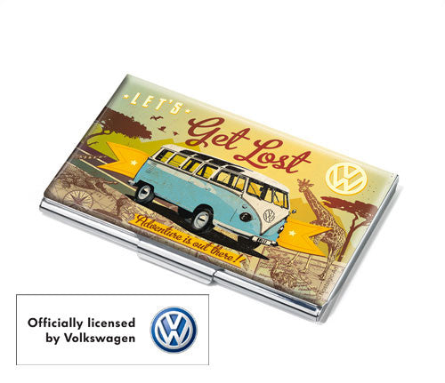 Troika slim style wallets and small leather accessories troikaus troika volkswagen vw van card case officially licensed vw lets get lost reheart Image collections