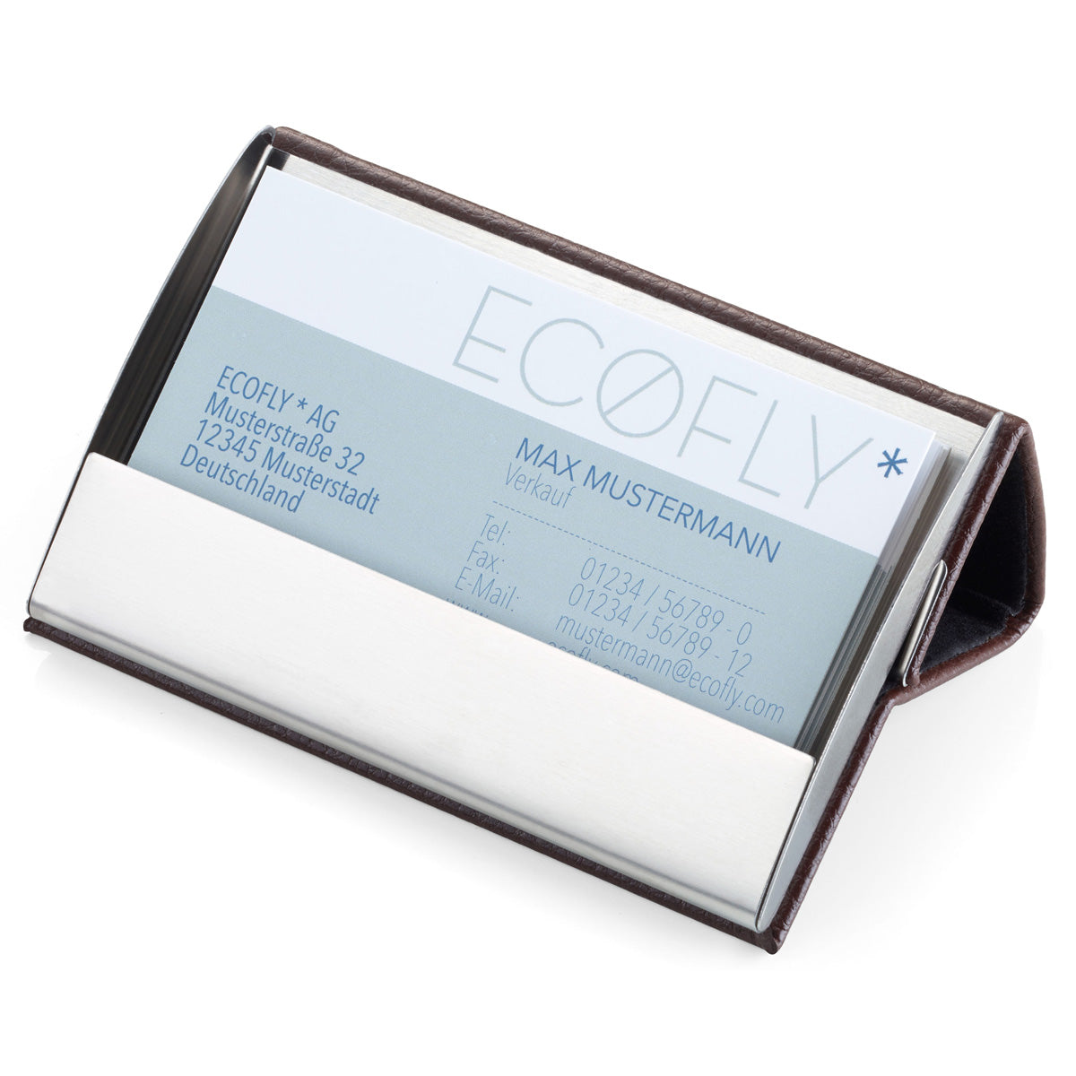 Troika Business Card Case And Stand Troikaus