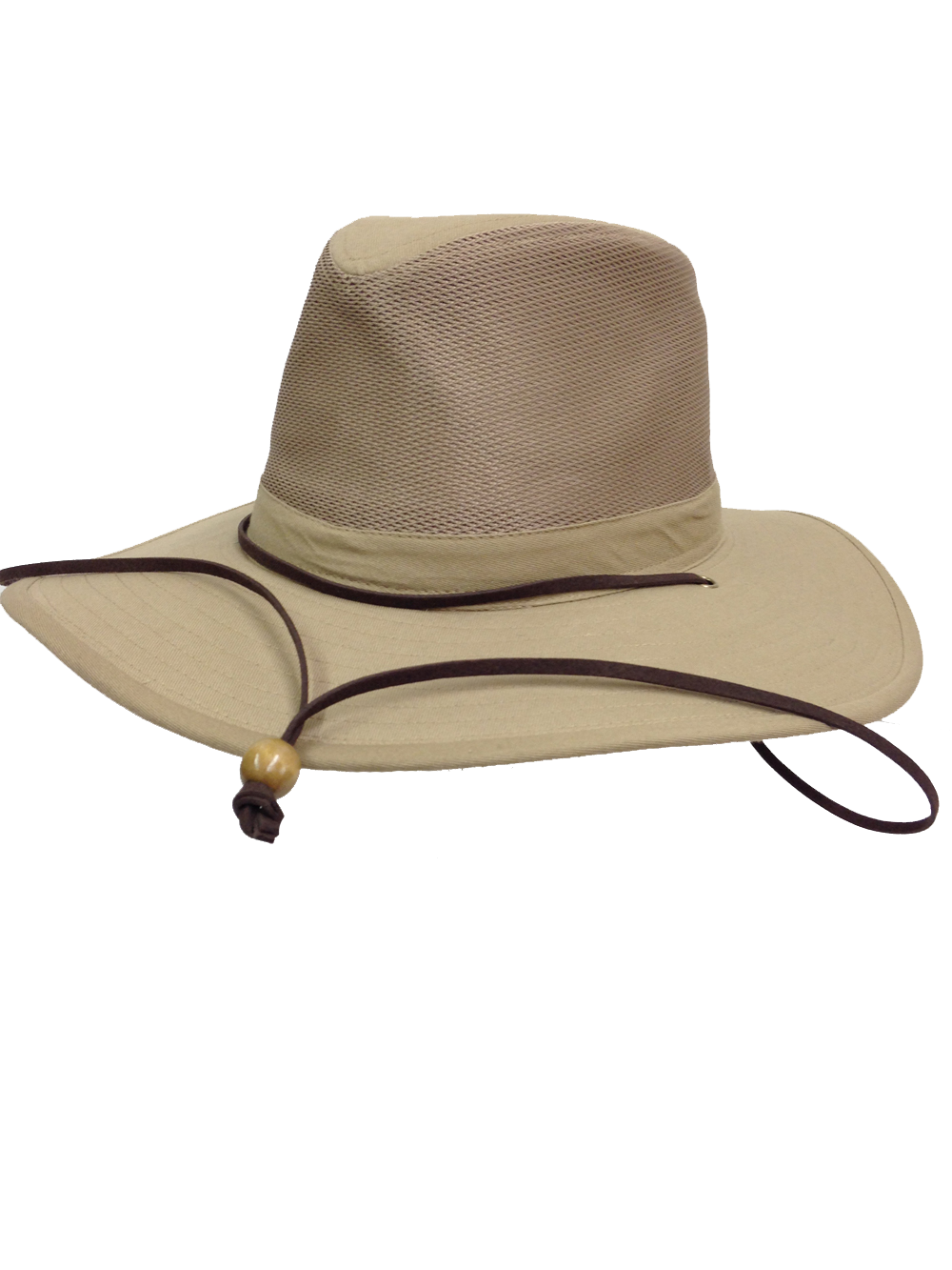 ace6f64a9e8 Natural and Neutral Hats Adult Canvas Safari Mesh Crown Hat