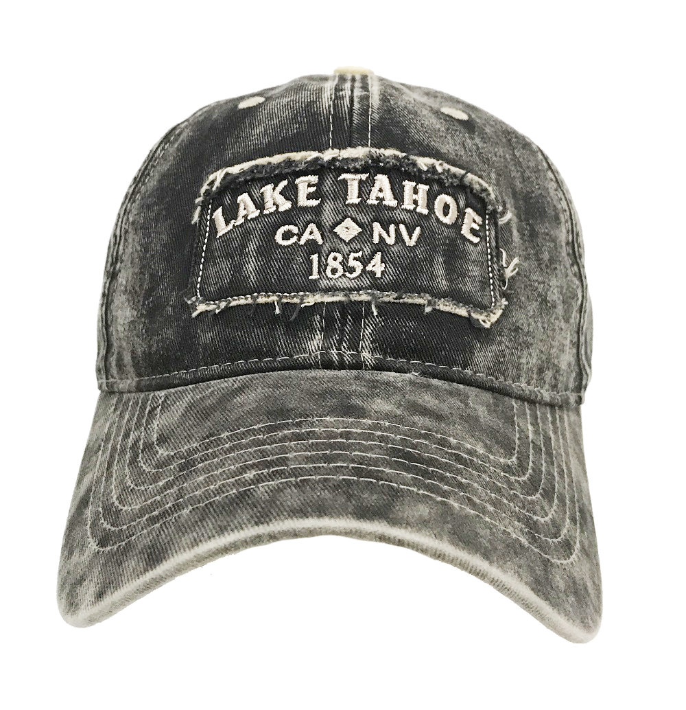 1e517af4565 Souvenir Ball Cap Stonewashed Patch Lake Tahoe - Wholesale Resort ...