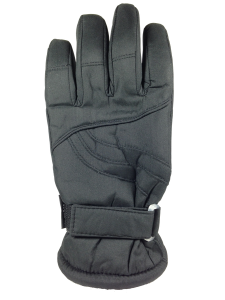 Winter Gloves-Ski Ladies Taslon Ski Glove, Black
