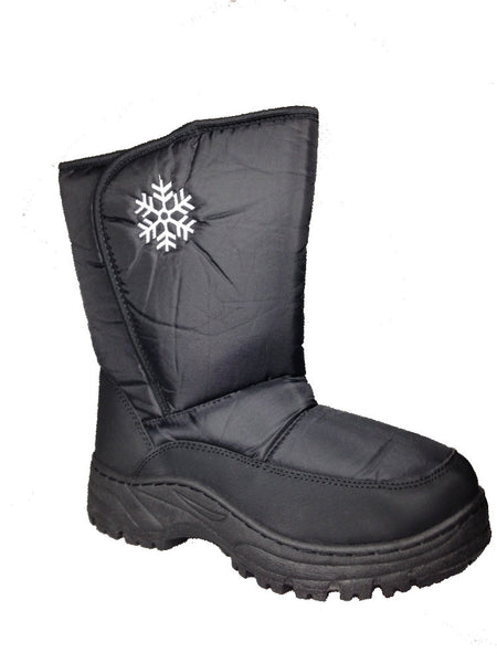 Winter Boots-Ladies Snowflake Snow Boot