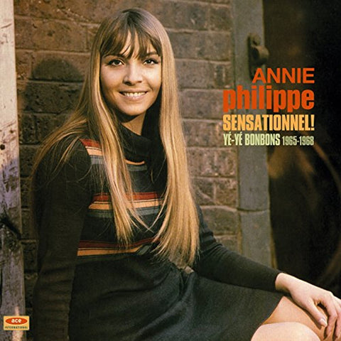"Annie Philippe ""Sensationnel Yé-Yé Bonbons 1965-1968"" LP (Color Vinyl)"