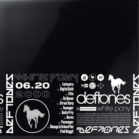 "Deftones ""White Pony (20th Anniversary)"" 4xLP"