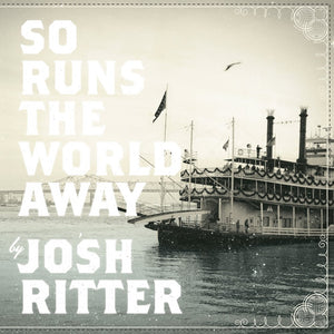 "Josh Ritter ""So Runs the World Away"" LP (Clear + Blue Swirl Vinyl)"