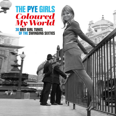 "Various Artists ""The Pye Girls Coloured My World: 32 Brit Girl Tunes Of The Swinging Sixties"" 2xLP (Blue Vinyl)"
