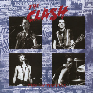 "The Clash ""Ties on the Line"" LP"
