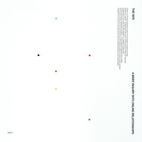 "The 1975 ""A Brief Inquiry Into Online Relationships"" 2xLP"