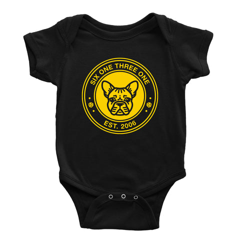 "6131 Records ""Frenchie"" Onesie"