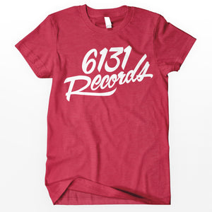 "6131 Records ""Classic"" Shirt - White / Red"