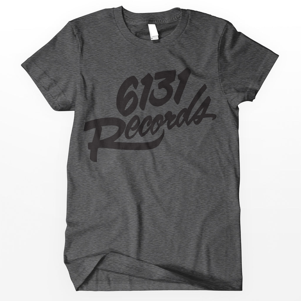 "6131 Records ""Classic"" Shirt - Black / Grey"