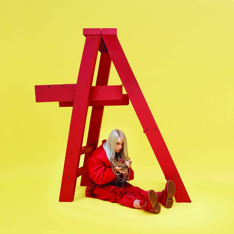 "Billie Eilish ""Don't Smile At Me"" LP (Red Vinyl)"