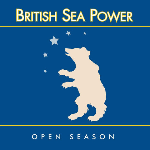 "British Sea Power ""Open Season"" 2xLP (Blue / Picture Disc Vinyl)"