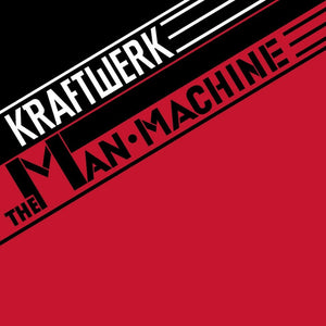 "Kraftwerk ""The Man-Machine"" LP (Red Vinyl)"