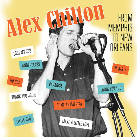 "Alex Chilton ""From Memphis To New Orleans"" LP"