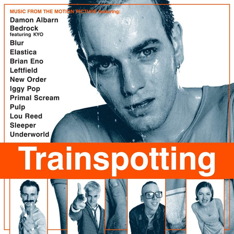 "Various Artists ""Trainspotting: Music from the Motion Picture"" 2xLP (Orange Vinyl)"