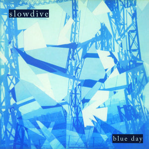 "Slowdive ""Blue Day"" LP (White Marble Vinyl)"