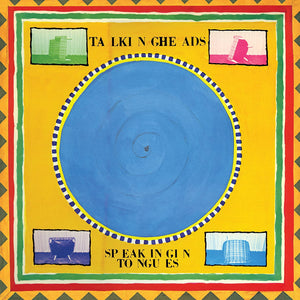 "Talking Heads ""Speaking in Tongues"" LP (Blue Vinyl)"