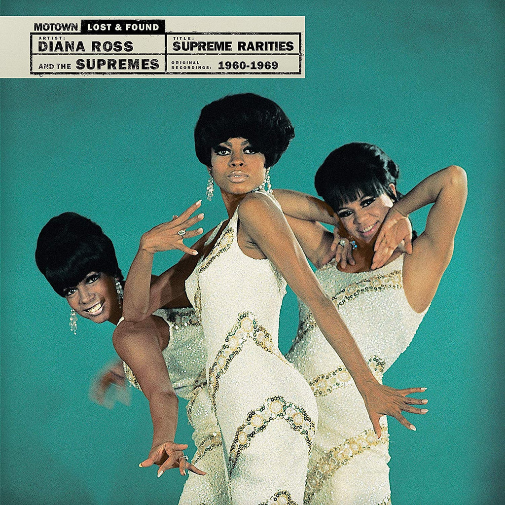 "The Supremes ""Supreme Rarities: Motown Lost and Found"" 4xLP"