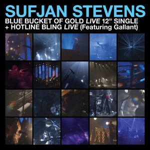 "Sufjan Stevens ""Blue Bucket of Gold Live"" 12"""