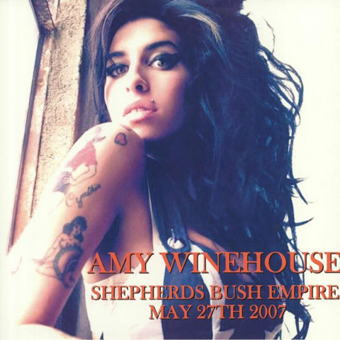 "Amy Winehouse ""Live Shepherds Bush Empire May 27th, 2007"" LP"