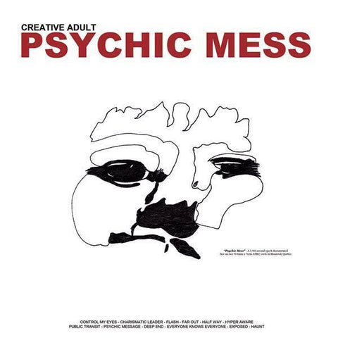 "Creative Adult ""Psychic Mess"" LP"