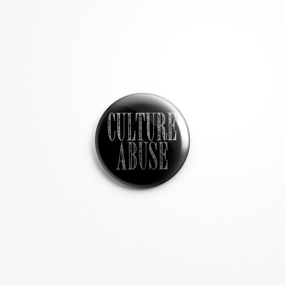 "Culture Abuse ""Logo"" 1"" Button"