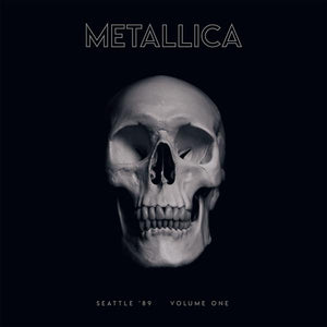 "Metallica ""Seattle '89 Vol. 1"" 2xLP (Clear Vinyl)"