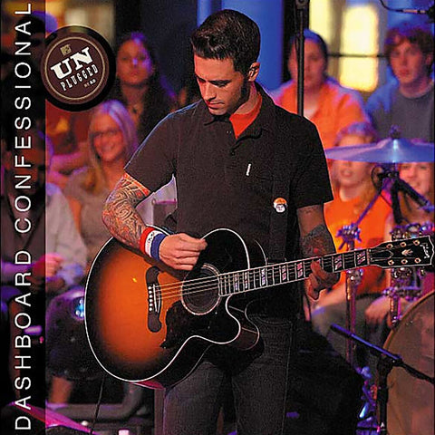 "Dashboard Confessional ""MTV Unplugged 2.0"" (Red Splatter Vinyl)"