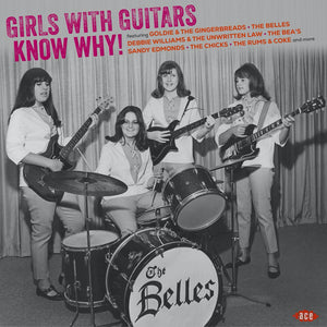 "Various Artists ""Girls With Guitars Know Why!"" LP (Violet Vinyl)"