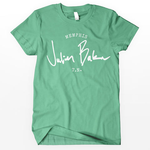 "Julien Baker ""Stamp"" Shirt - Green"