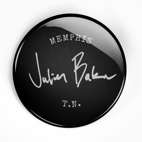 "Julien Baker ""Stamp"" 2.25"" Button"