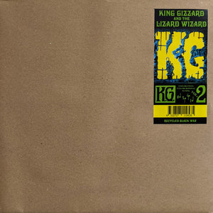 "King Gizzard and The Lizard Wizard ‎""K.G."" LP"