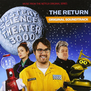 "Various Artists ""Mystery Science Theater 3000 The Return: Original Soundtrack"" LP (Blue-Grey ""Satellite of Love"" Vinyl)"