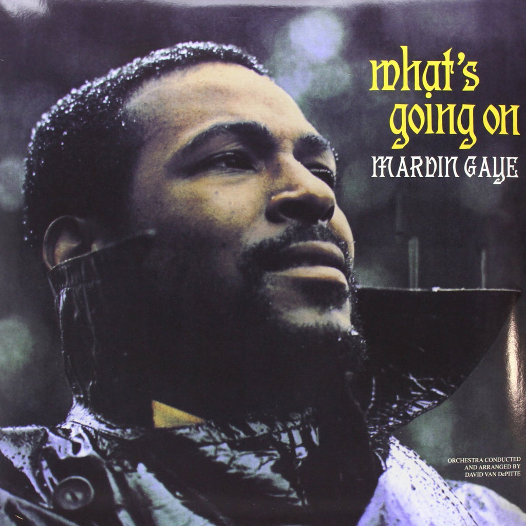 "Marvin Gaye ""What's Going On"" LP"